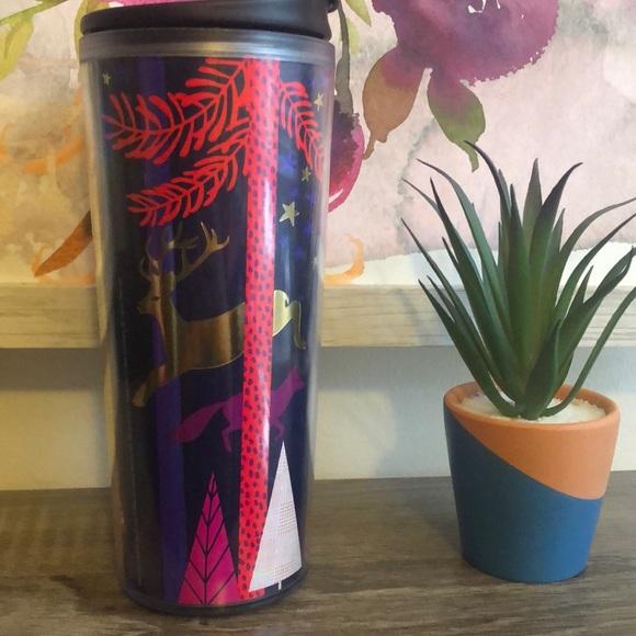 Starbucks Winter Holiday Reusable Coffee Travel Mug